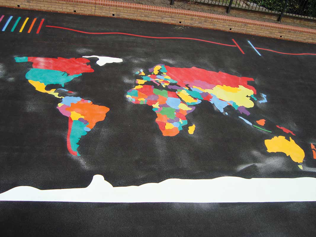 Thermoplastic world map large markings world map large gumiabroncs